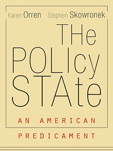 "Photo of the cover of the book titled ""The Policy State."""