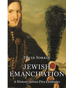 """Cover of the book titled """"Jewish Emancipation: A History Across Five Centuries."""""""