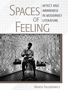 "Photo of the cover of the book titled ""Spaces of Feeling."""