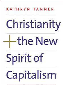 "Cover of the book titled ""Christianity and the New Spirit of Capitalism."""