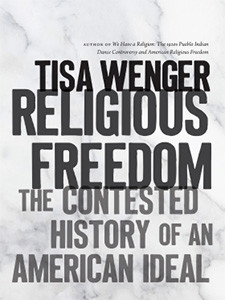"Photo of the cover of the book titled ""Religious Freedom"""