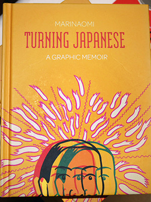 """Turning Japanese"" book cover."