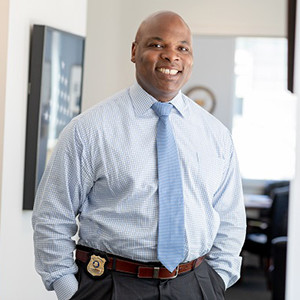 Yale University Police Chief Ronnell Higgins