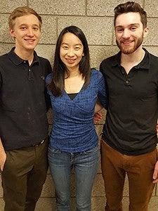 Dianna Liu, Petter Wehlin, Bryan Duerfeldt