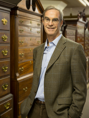 Edward Cooke, the Charles F. Montgomery Professor of American Decorative Arts at Yale.