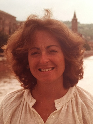 Jane Tylus in Italy circa 1982.