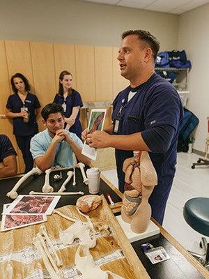 "Yale School of Nursing's ""Have Bones … Will Travel"" exhibit"