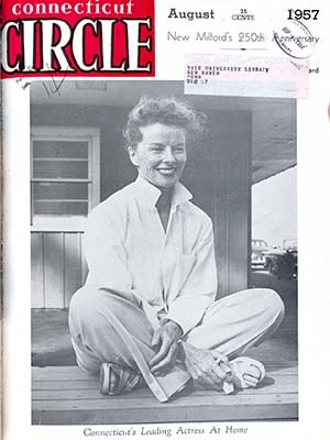 A Connecticut Circle magazine cover from August 1957,