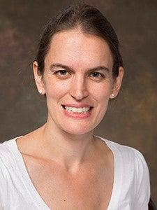 Photograph of professor Kate Baldwin.