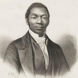A portrait of James Pennington by John Robert Dicksee