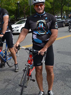 Joe Funaro in this year's Tour de Force.