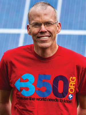 Photo of environmentalist and author Bill McKibben.