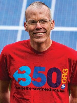 Photo of environmentalist and author Bill McKibben.