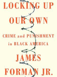 "Photo of the cover of the book titled ""Locking Up Our Own."""