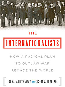 "Photo of cover of the book titled ""The Internationalists"""
