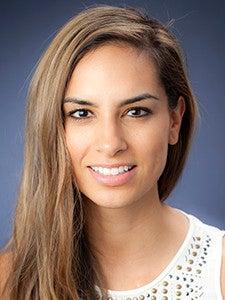 Photo of postdoctoral fellow Kellie Ann Jurado