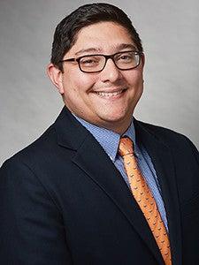 A photo of Dr. Juan Vasquez.