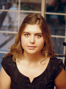 A portrait of assistant professor of computer science Mariana Raykova.