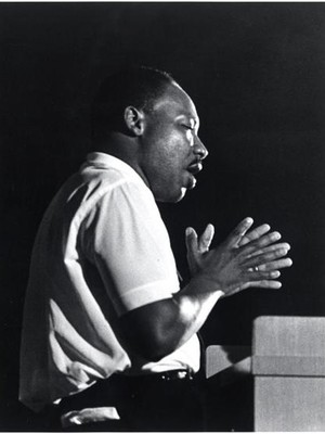 Martin Luther King on May Day.