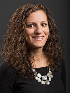 Photo of professor Nicole Deziel.