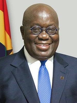 President Nana Addo Dankwa Akufo-Addo of the Republic of Ghana