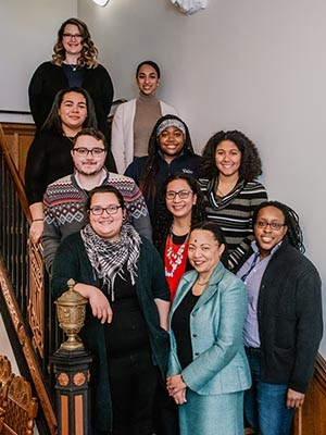 Participants in Yale's Post-Baccalaureate Research Education Program.