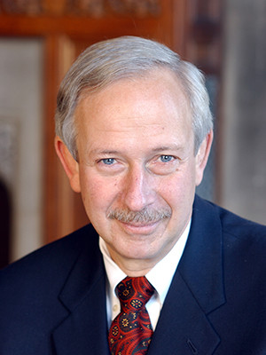 Former Duke University president and former Yale College dean Richard H. Brodhead