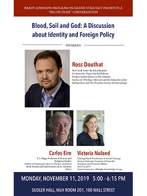 Blood, Soil, and God: a Discussion About Identity and Foreign Policy
