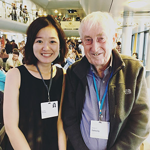 Kayoko Shioda and Dr. Peter Doherty in Germany.