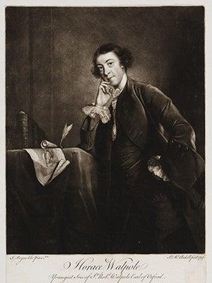 Portrait of Horace Walpole