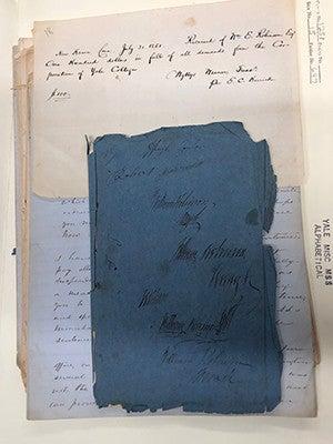 William Robinson's diary
