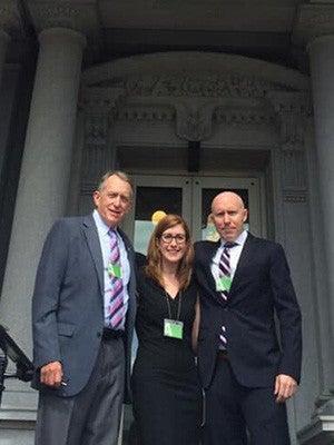 Dr. Kevin Kunz, Dr. Jeanette Tetrault, and Dr. Tim Brennan