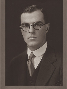 Wilder's Yale yearbook photo.