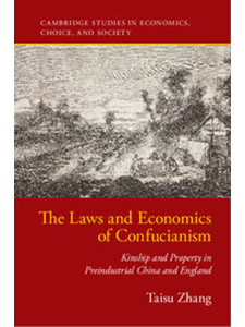 The Laws and Economics of Confucianism bookcover