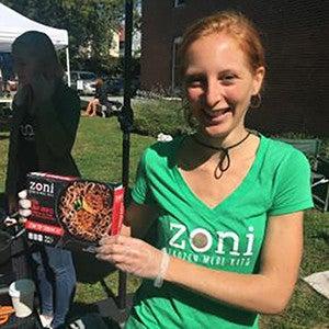 Zoe Lloyd, cofounder of Zoni Foods