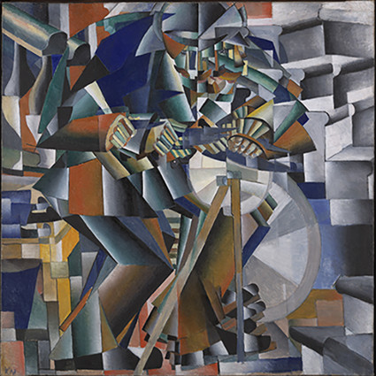 The Knife Grinder or Principle of Glittering by Kasimir Malevich