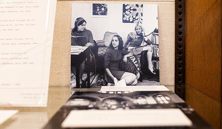 Rachel Kurshan, Maryse H. Baptiste, and Susan Boyd-Bowman were residents oft Trumbull College in 1969.