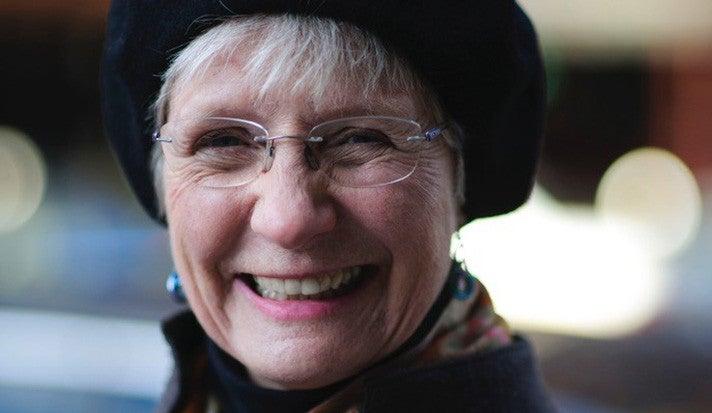 Photo of Caroline Bruzelius.
