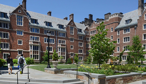 A View From The Calhoun College Courtyard Photo By Michael Marsland