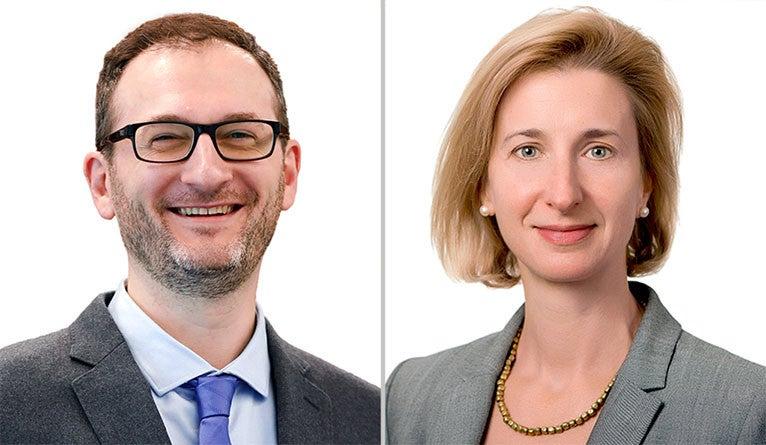Ben Myers and Janie Merkel