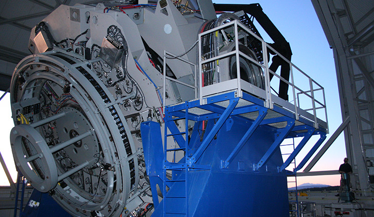 The Lowell Observatory Discovery Channel Telescope in Arizona