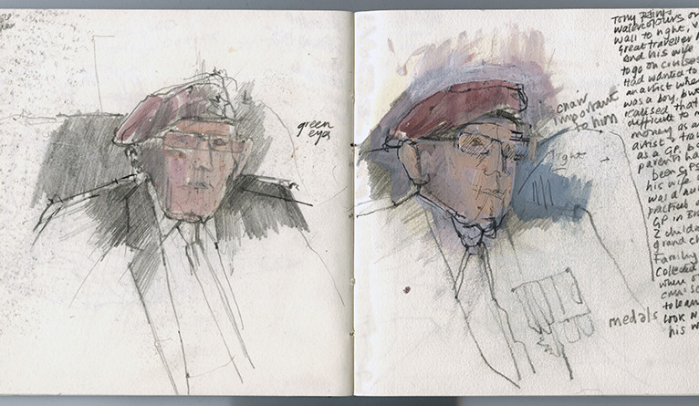 "Eileen Hogan, ""Sketchbook: Tony Leake"""