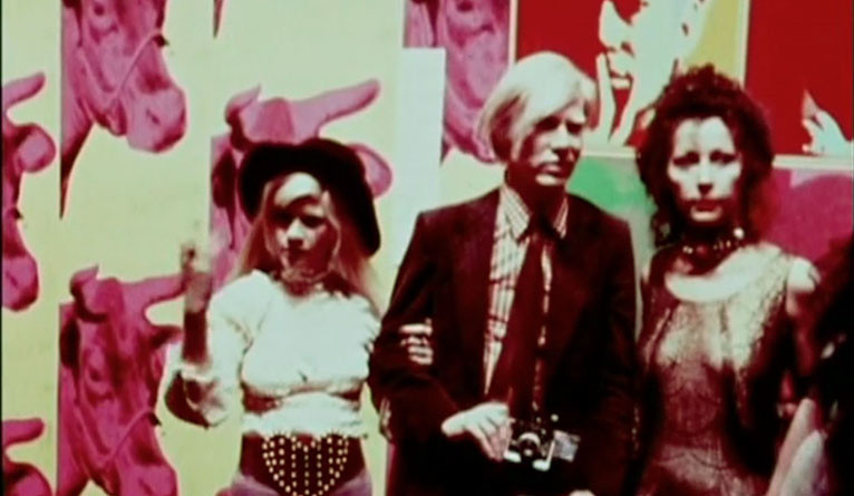 "Andy Warhol in a scene from ""End of the Art World,"" by Alexis Krasilovsky '71 B.A."