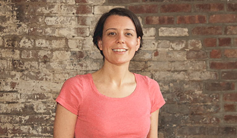 Erin Barnes '07 M.E.M., the cofounder and executive director of ioby.