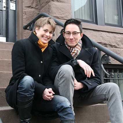 Louisa Proske and Ethan Heard, co-artistic directors of Heartbeat Opera.