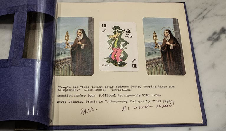 An art book made by David Sedaris as an assignment at the Art Institute of Chicago in the 1980s.