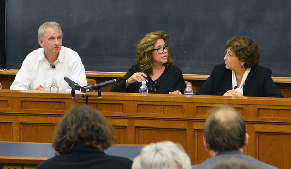 "Photo of second panel at ""Truth in the Internet Age: The War on Truth"""