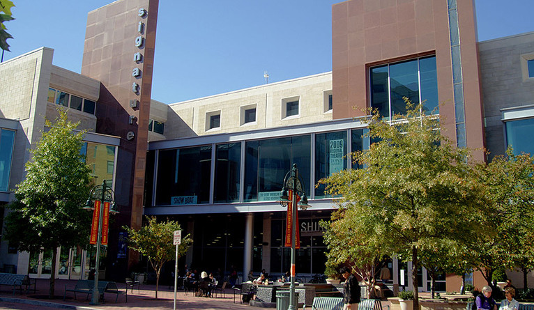 The exterior of Signature Theatre in Oct. 2009