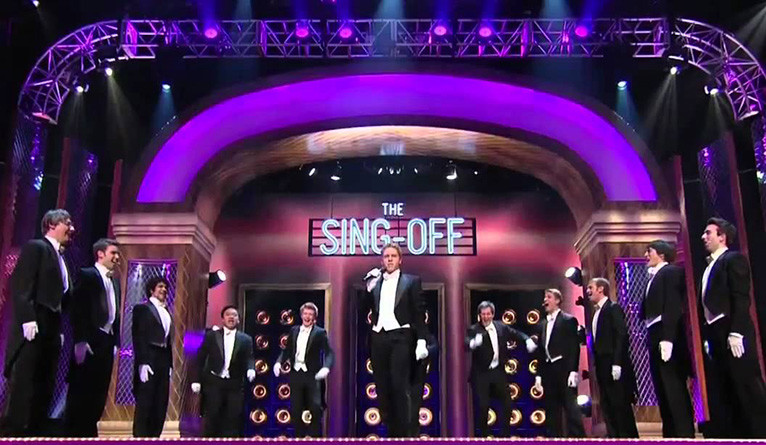 "The Whiffenpoofs on ""Sing Off"" in 2010"