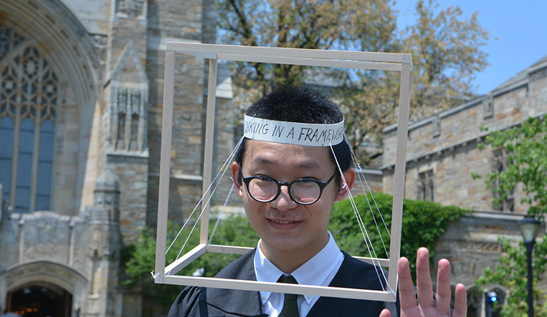 """""""Thinking in a Framework"""" silly hat"""